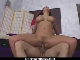 MomsWithBoys - cougar Gianna Michaels yam-sized nailing baps porked