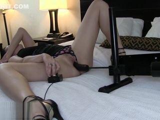Sex addict bestie Was Set Up and Took The Bait-Hidden webcam at motel apartment