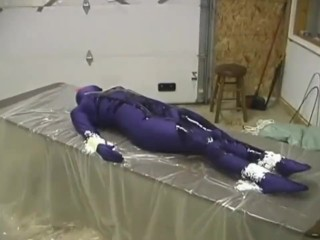 Zentai big-busted Heroin