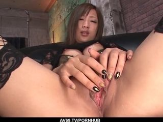 Supah supah-hot Aika vignettes in solo getting off romance - More at 69avs.com