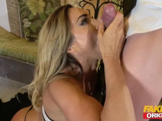 FAKEhub cougar vid producer pumps out and plows like kinky