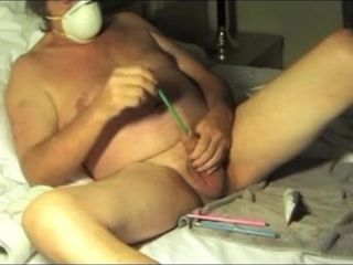 Dude the mask sounding urethral fucktoy pen 6941