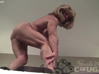 Sissified Bodybuilder Shows gone their way heavy Clit
