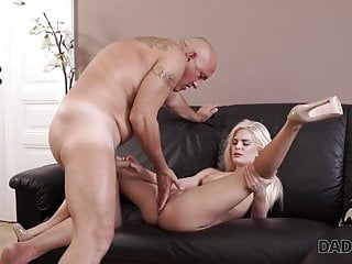 DADDY4K. Nosey platinum-blonde desired to attempt bang-out with expert..