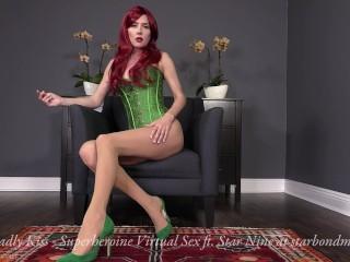Ivy's Deadly smooch - Superheroine Virtual orgy Trailer