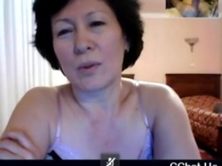 Grandmother from Kazahstan witness me how I have fun on skype