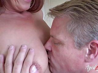 AgedLovE boyfriend Diamonds and Marc Kaye hard-core bang-out