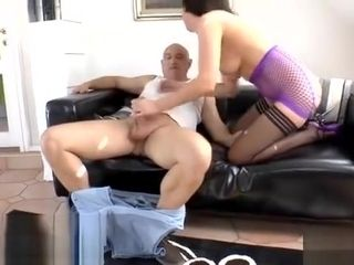 Fashionable Mature luvs Stranger fuckin' Her - assfuck dark-haired stocking Mature pornography Tube