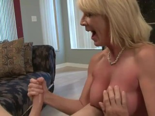 Mommy son-in-law jizz whip out