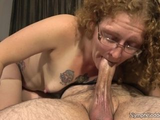 Congenital crimson Head Ivy bj's spouse off until his boner pulsates in her gullet