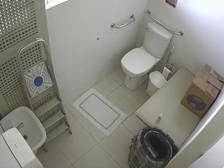 Covert work rest room web cam