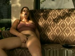 Cougar series ejaculation on the balcony