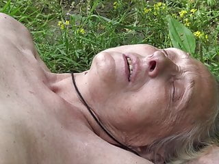 Grandmother lured by youthfull naturist