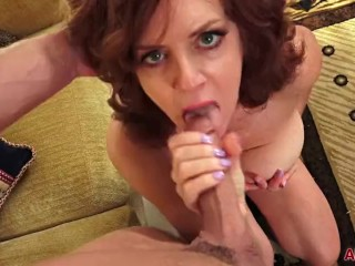 Chunky bosom Redhead MILF Andi James Gets Fucked in the sky AllOver30