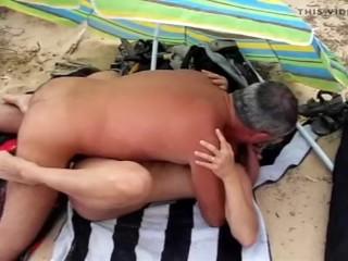 Lisa cuckold seashore at hand Maspalomas