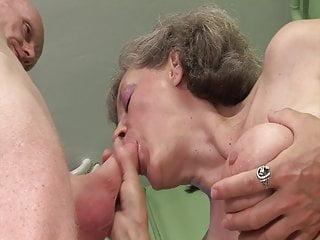 Grannie needs an climax