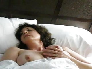 Beautiful mature mother frigging twat